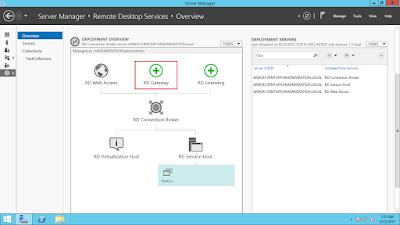 Remote Desktop Services - Deploying a Remote Desktop Gateway