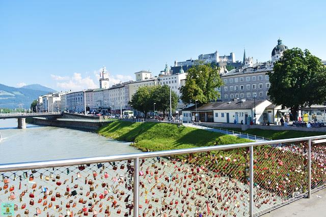 Puente de los candados de Salzburg, Austria