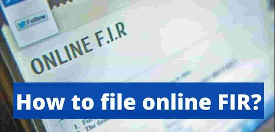 How to File Online FIR