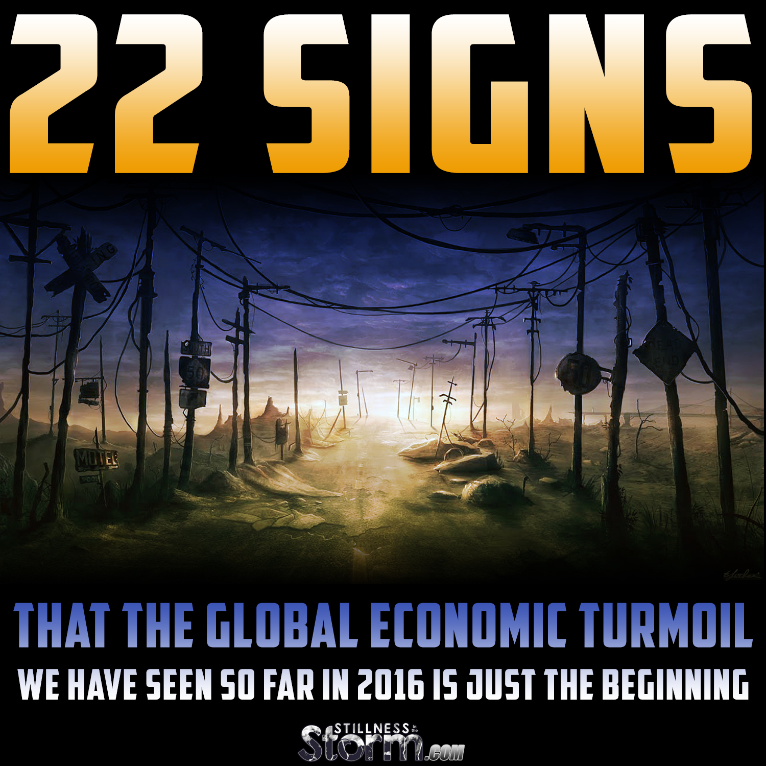 22 Signs That The Global Economic Turmoil We Have Seen So