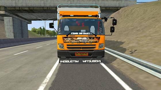 mod truck fuso fn 62 bak