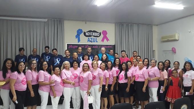 Missão Evangélica promoveu palestra destacando importância da prevenção do câncer de mama e próstata