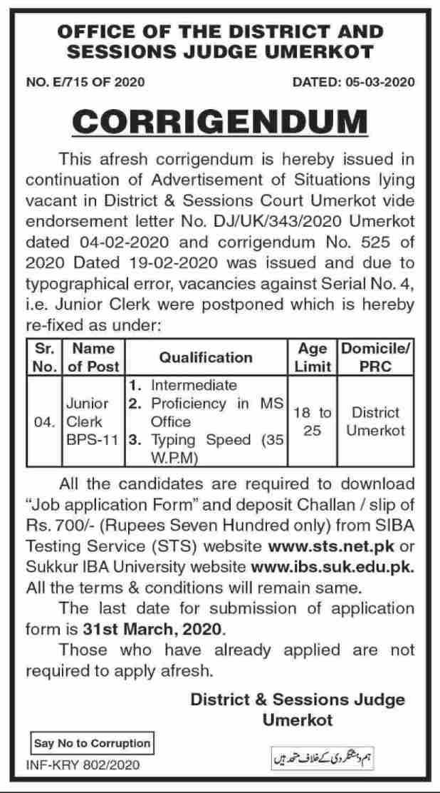 Latest Jobs in District Health Officer