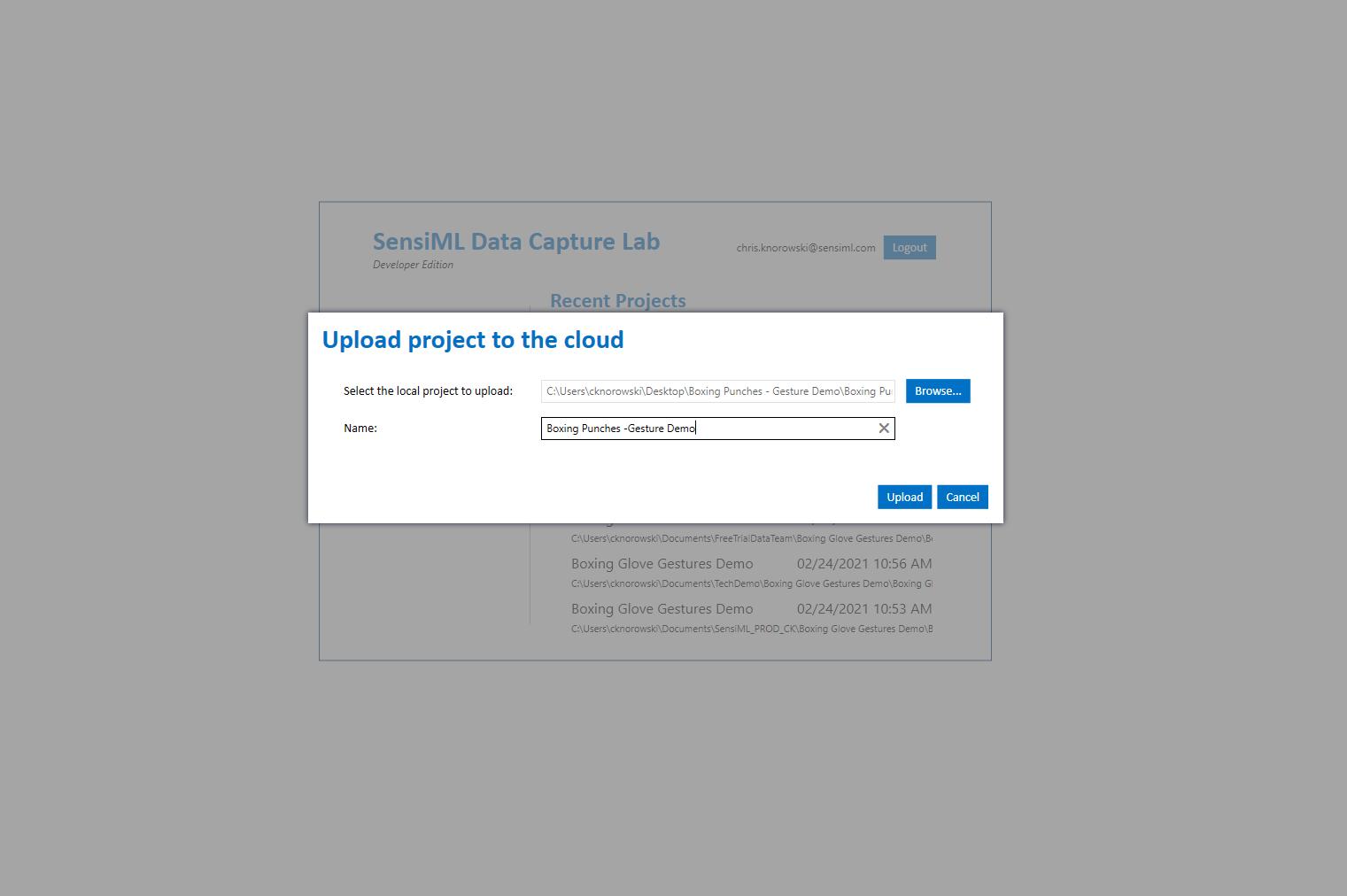 SensiML Data Capture Lab