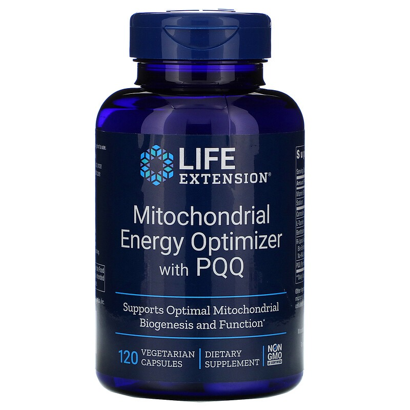 Life Extension, Mitochondrial Energy Optimizer with PQQ, 120 Vegetarian Capsules