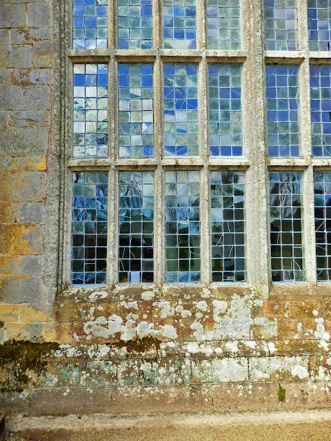 15th century windows at Cornwall's Trerice House