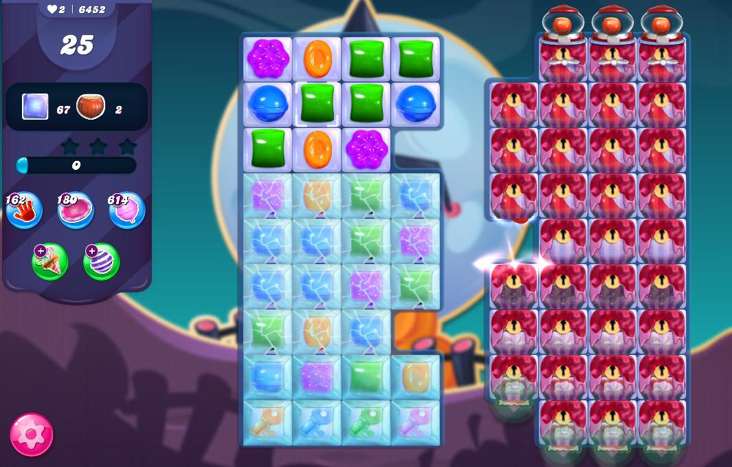 Candy Crush Saga level 6452