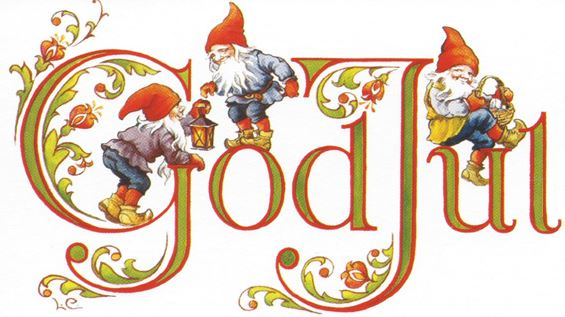 God Jul text