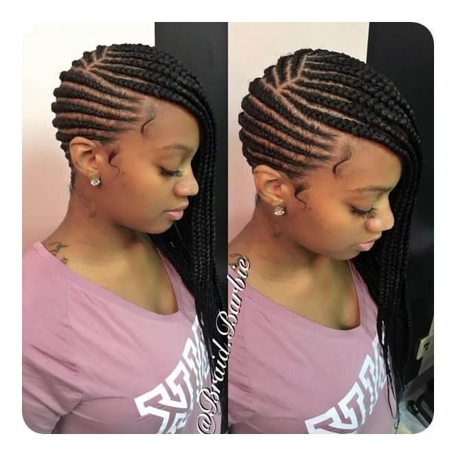 37 Chic Lemonade Braids Hairstyle 2018 For African American Women