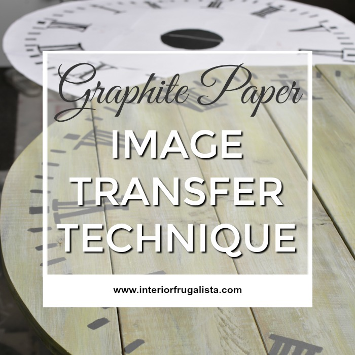 Graphite Paper Image Transfer Technique - 6th Most Popular Post of 2018