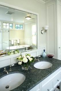 White Frame Bathroom Mirror White Bathroom Mirror Canada