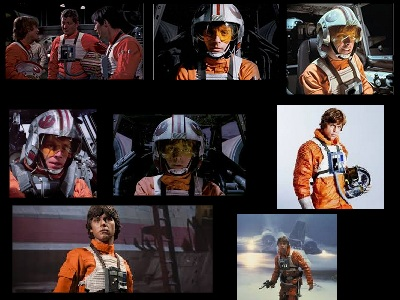 Luke Skywalker pilóta