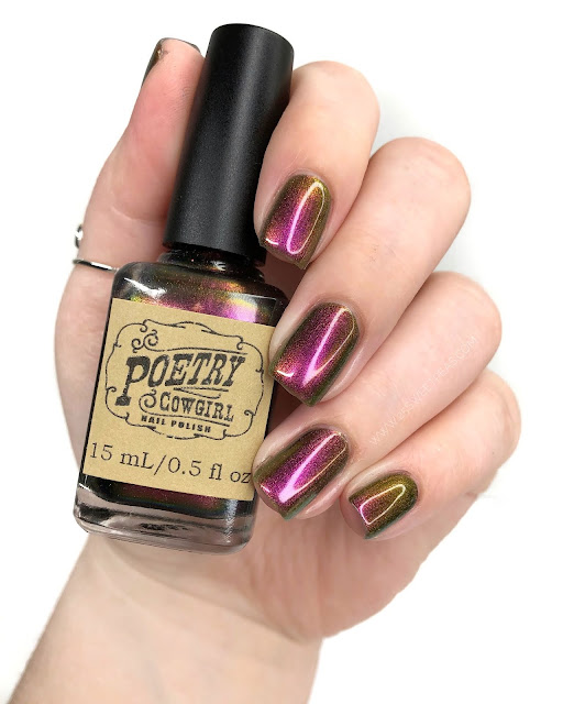 Poetry Cowgirl Nail Polish You are Beautiful At Any Size 25 Sweetpeas