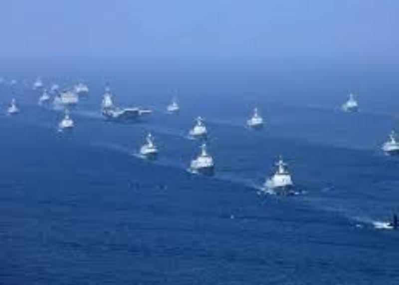 Jalankan Operasi, Dua Kapal Induk Amerika Dikirim ke Laut China Selatan