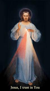 Divine Mercy, Jesus, I trust in You