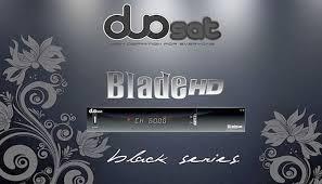 DUOSAT BLADE HD BLACK SERIES ATUALIZAÇÃO V1.80 - 20/01/202