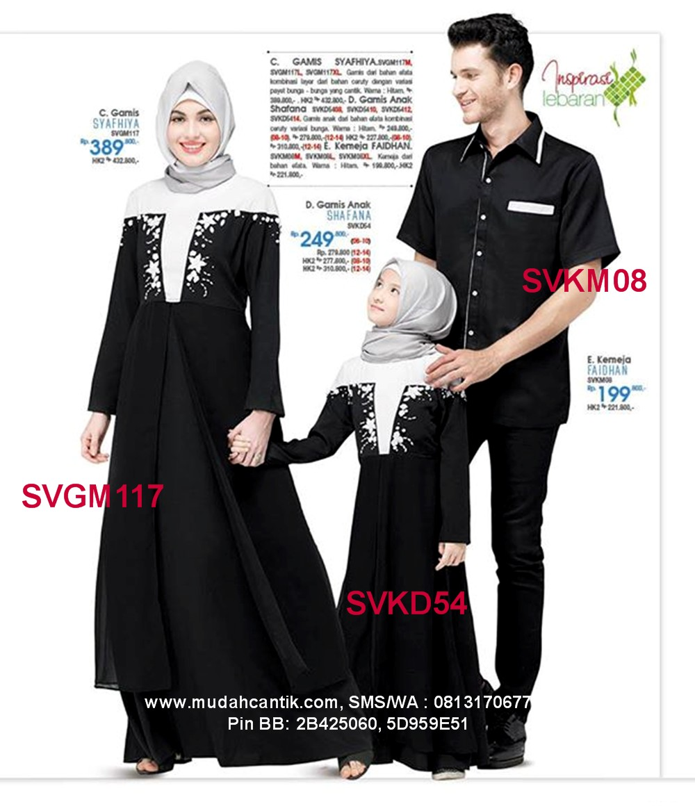 Butik Baju Muslim Terbaru 2019 Baju Lebaran Keluarga Muslim