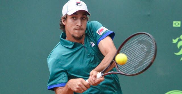 Felipe Meligeni, sobrinho de Fernando Meligeni, está disputando o qualificatório do Grand Slam de Roland Garros