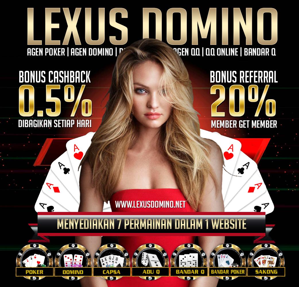 Lexusdomino.net Agen Domino | Domino Online | Agen BandarQ | Domino 99 Terpercaya | Bandar Sakong