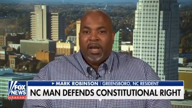 Republican Mark Robinson Becomes NC's First Black Lt. Governor After Giving Impassioned Pro-Gun Speech