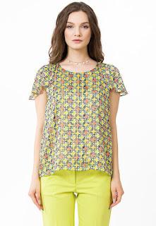 Sense - Дамска Блуза с фигурална шарка