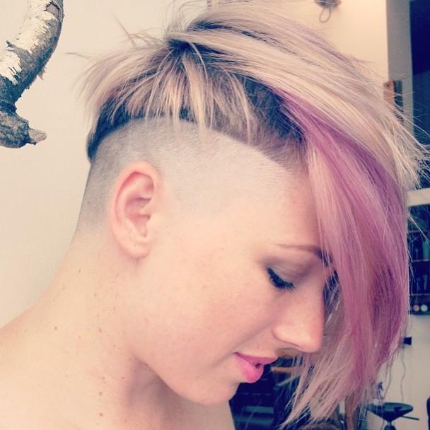 Shaved hair videos