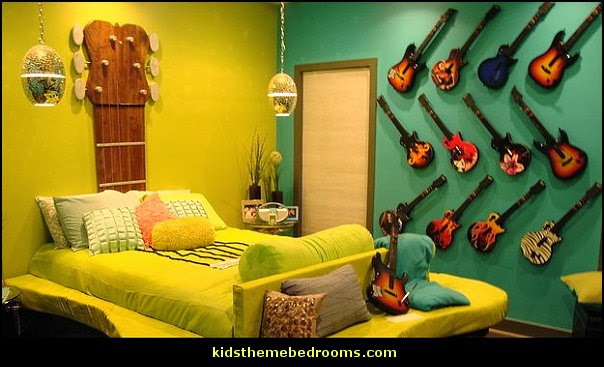 Theme+bedroom+decorating+ideas Guitar+theme+bedroom+decorating+ideas