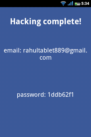 تطبيق Facebook Password Hack