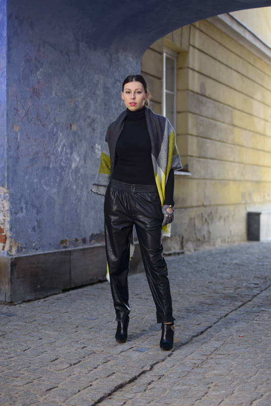 leather pants by Zara