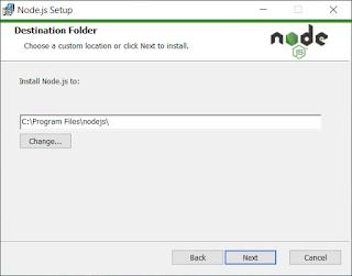 pemilihan folder/direktori nodejs
