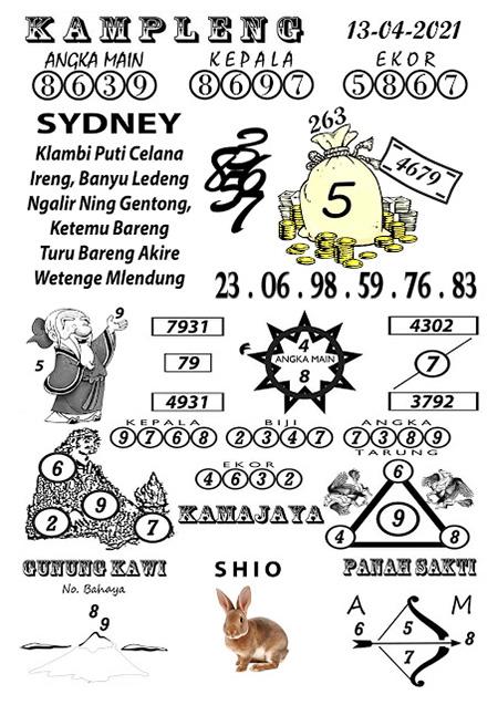 Kampleng Sydney Selasa 13-Apr-2021