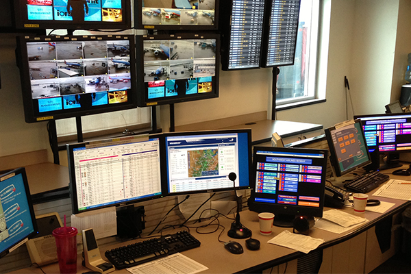 The dispatcher workplace