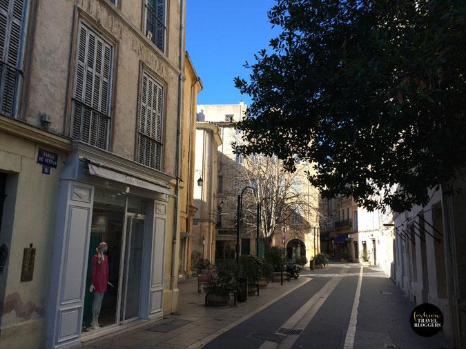 Un día en Aix en Provence
