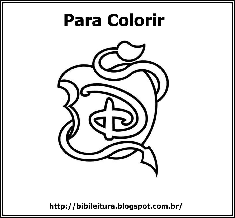 Bibi Leitura Desenhos Para Colorir Descendentes