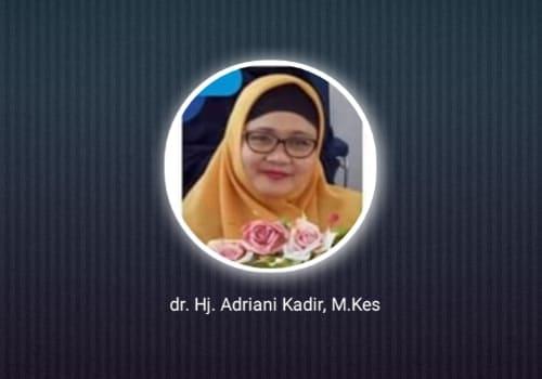 Dr. Hj. Adriani Kadir, Pemilik Klinik yang Suka Menggratiskan Ustaz dan Santri Menjadi Korban Gempa Majene