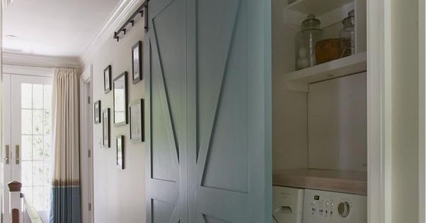Laundry Room Barn Door Home Interior Exterior Decor Design Ideas