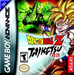 Rom de Dragon Ball Z: Taiketsu - GBA - PT-BR - Download