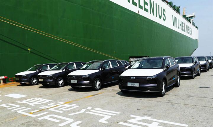 Ôtô điện Trung Quốc lên đường tới châu Âu