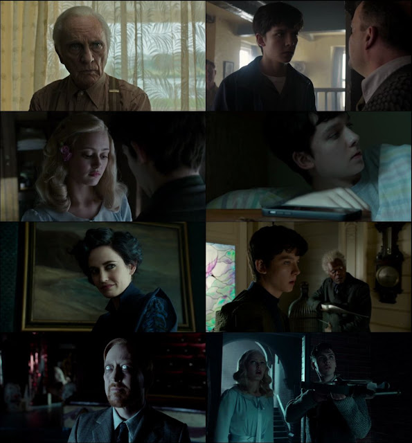 Miss Peregrine's Home for Peculiar Children 2016 Dual Audio ORG 720p WEBRip