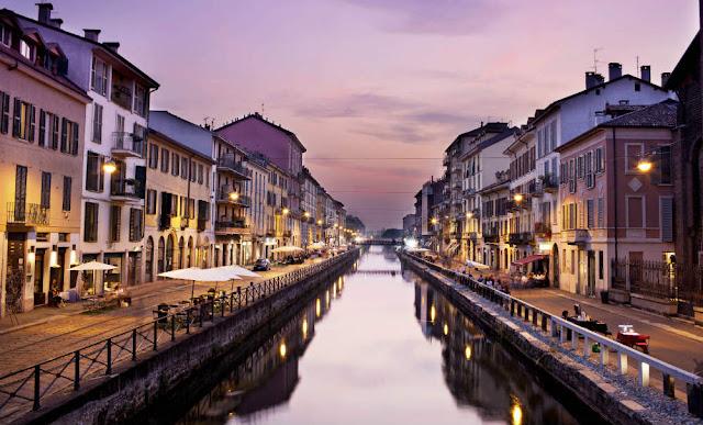 Navigli, Milán, Italia