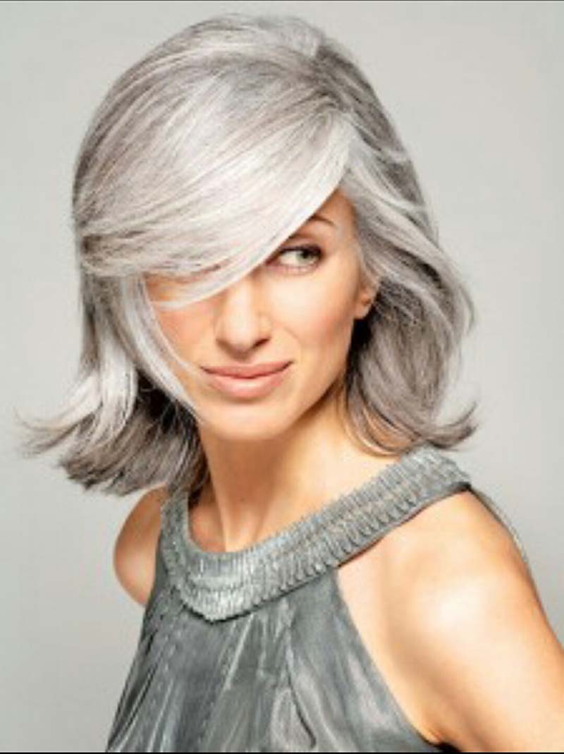 How To Dye Your Hair Grey At Home, Because It's Officially The Top Hair Colour Of 2019