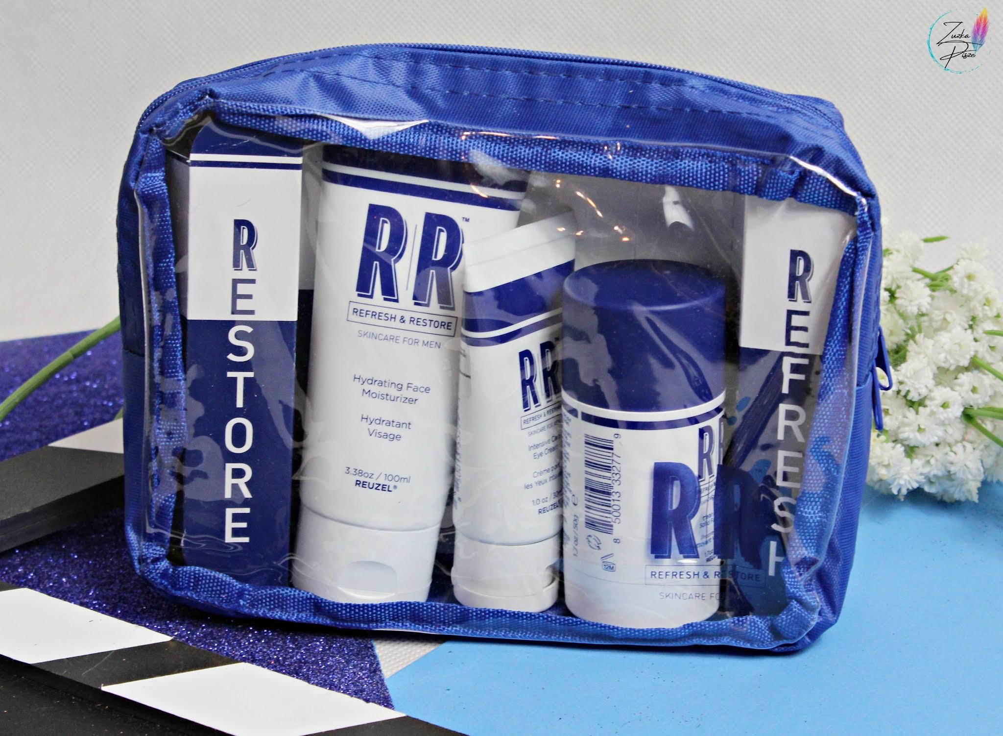 REUZEL RR Skin Care Gift Set - kosmetyczka z 3 produktami