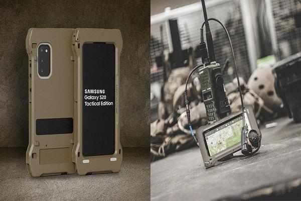 سامسونغ تكشف عن نسختها العسكرية من Galaxy S20