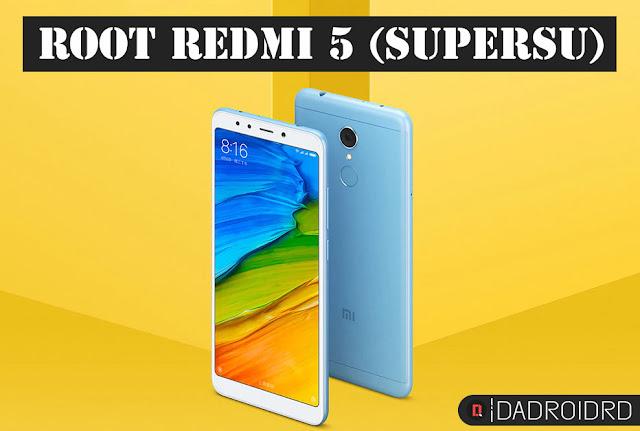 Cara Root Xiaomi Redmi 5 (Rosy) tanpa PC dengan SuperSU 100% Worked!