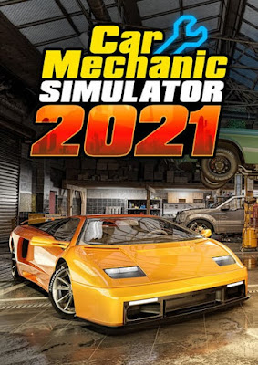 Capa do Car Mechanic Simulator 2021