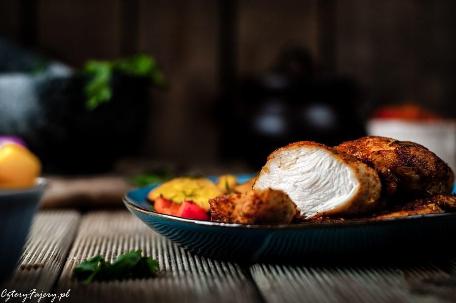 Szybki obiad z piersi kurczaka