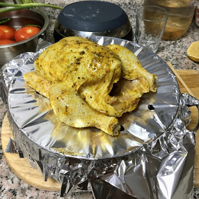 Yemeni Chicken Mandi | Smoky Chicken Rice