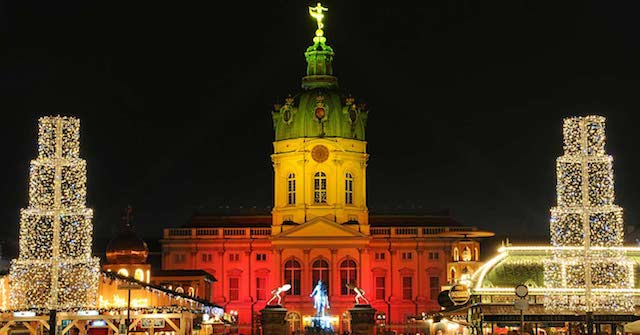 Mercado de Natal do Palácio Charlottenburg