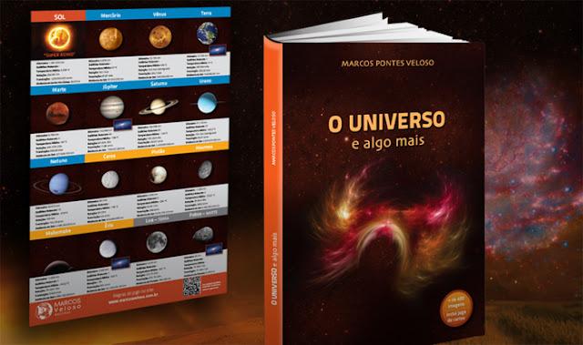 sorteio - livro O Universo e algo mais, com jogo de cartas
