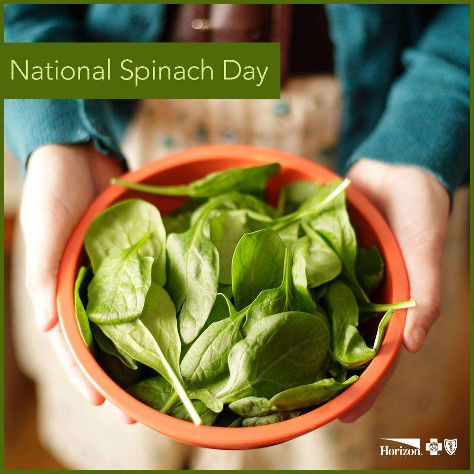 National Spinach Day Wishes For Facebook